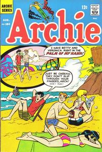 Cover Thumbnail for Archie (Archie, 1959 series) #184