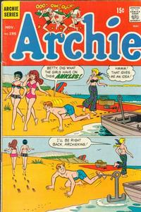 Cover Thumbnail for Archie (Archie, 1959 series) #195