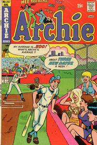Cover Thumbnail for Archie (Archie, 1959 series) #237