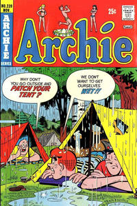 Cover Thumbnail for Archie (Archie, 1959 series) #239