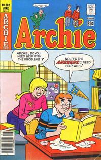 Cover Thumbnail for Archie (Archie, 1959 series) #262