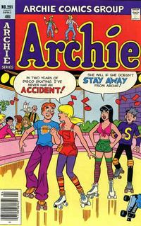 Cover for Archie (Archie, 1959 series) #291