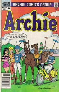 Cover for Archie (1962 series) #332