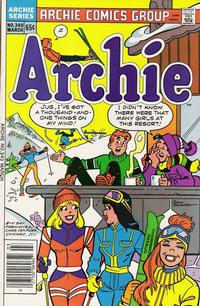 Cover for Archie (1962 series) #340