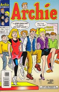 Cover Thumbnail for Archie (Archie, 1959 series) #468 [Direct]