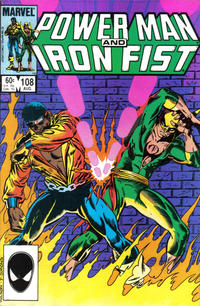 Cover Thumbnail for Power Man and Iron Fist (Marvel, 1981 series) #108 [direct]