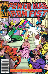 Cover Thumbnail for Power Man and Iron Fist (Marvel, 1981 series) #110 [newsstand]