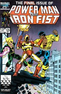 Cover Thumbnail for Power Man and Iron Fist (Marvel, 1981 series) #125 [direct]