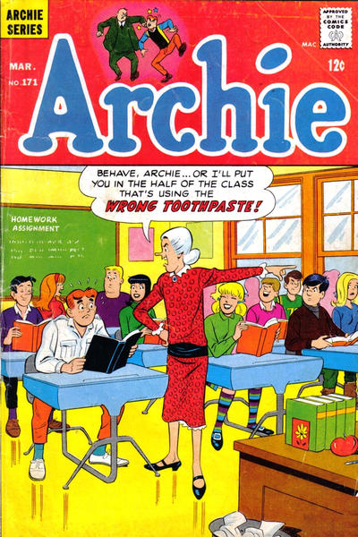 Cover for Archie (1962 series) #171