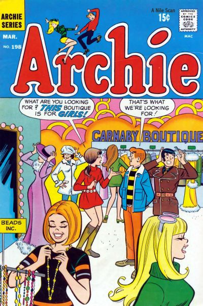 Cover for Archie (1962 series) #198