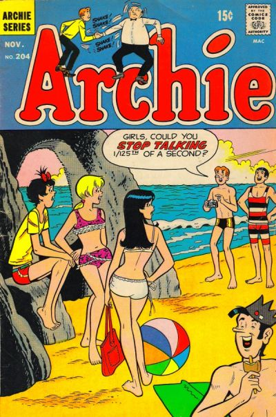 Cover for Archie (Archie, 1959 series) #204