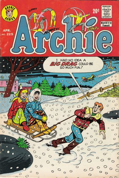 Cover for Archie (1962 series) #225