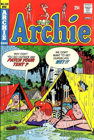 Cover for Archie (Archie, 1959 series) #239