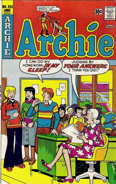 Cover for Archie (Archie, 1959 series) #253