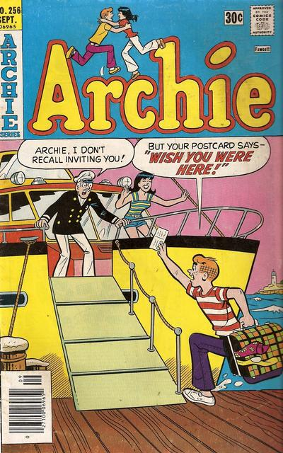 Cover for Archie (1962 series) #256