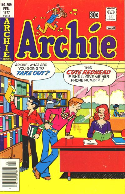 Cover for Archie (Archie, 1959 series) #259