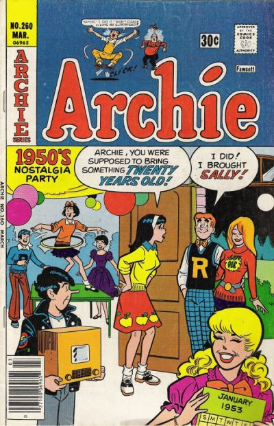 Cover for Archie (1962 series) #260