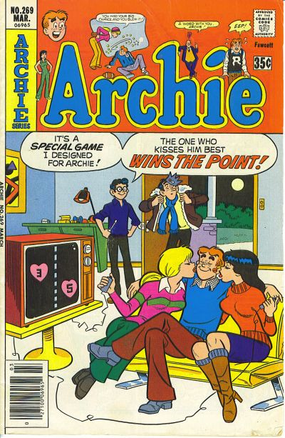 Cover for Archie (Archie, 1959 series) #269