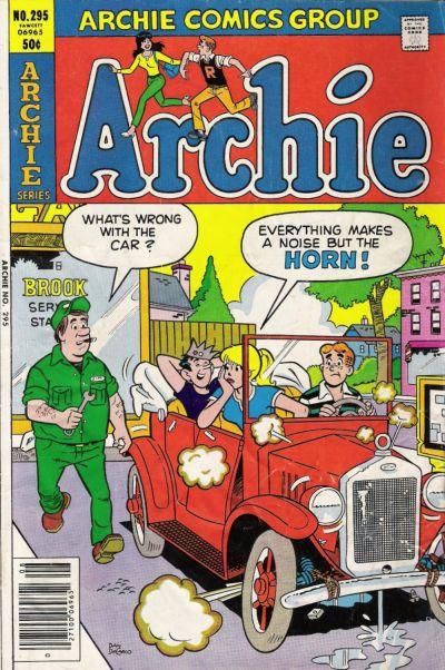 Cover for Archie (Archie, 1959 series) #295