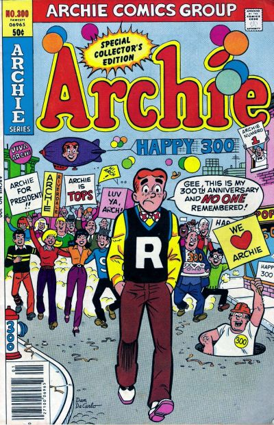Cover for Archie (Archie, 1959 series) #300