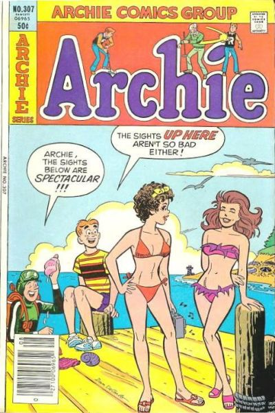 Cover for Archie (Archie, 1959 series) #307