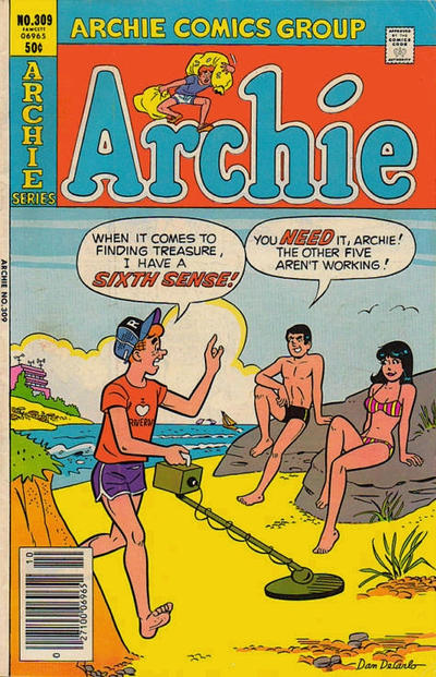 Cover for Archie (Archie, 1959 series) #309