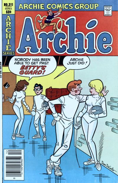 Cover for Archie (1962 series) #311