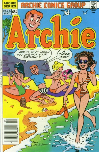 Cover for Archie (Archie, 1959 series) #337