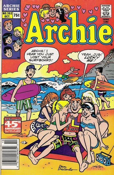 Cover for Archie (Archie, 1959 series) #352