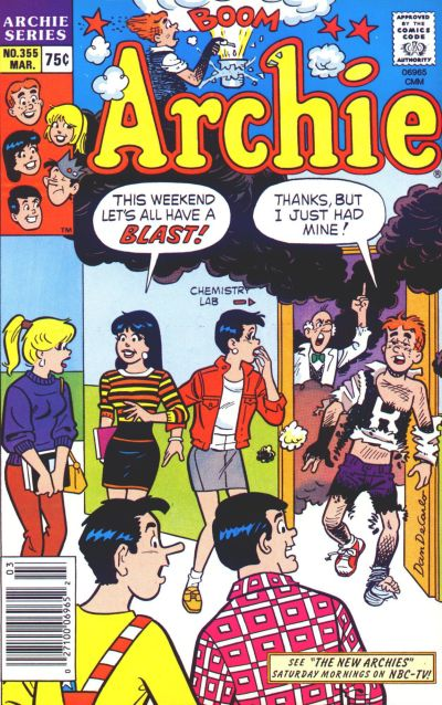 Cover for Archie (1962 series) #355
