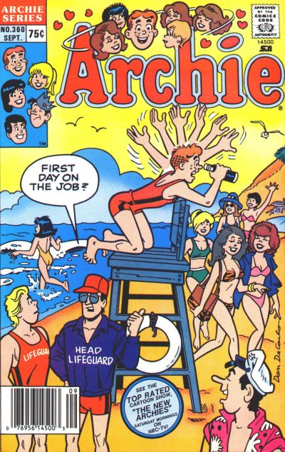 Cover for Archie (Archie, 1959 series) #360