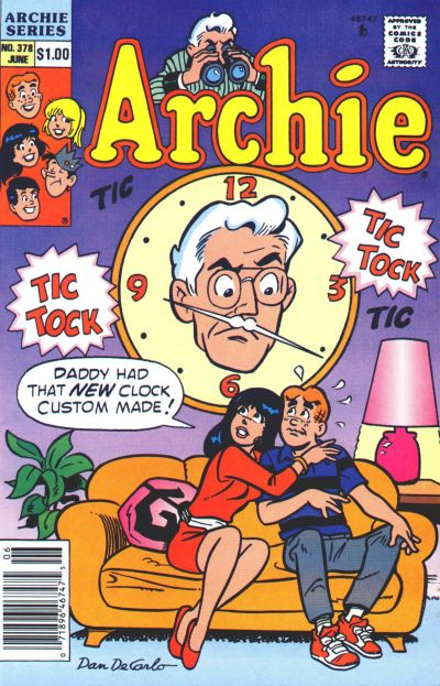Cover for Archie (Archie, 1959 series) #378