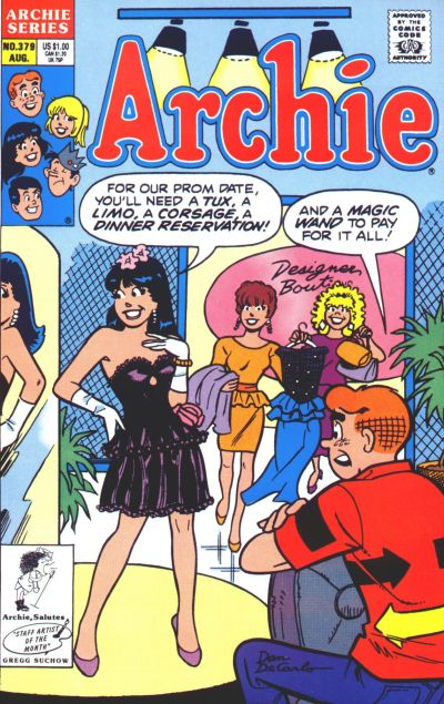 Cover for Archie (Archie, 1959 series) #379