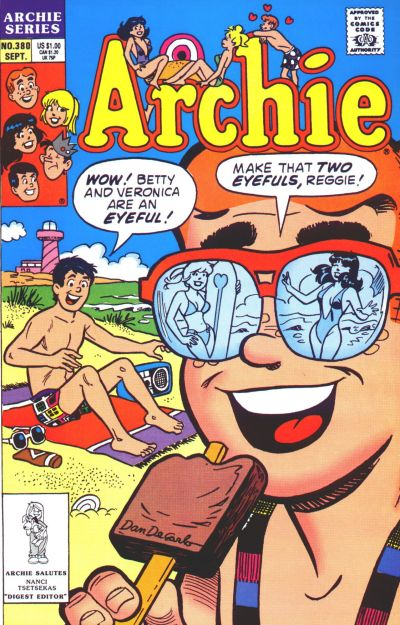 Cover for Archie (Archie, 1959 series) #380