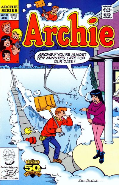 Cover for Archie (Archie, 1959 series) #386
