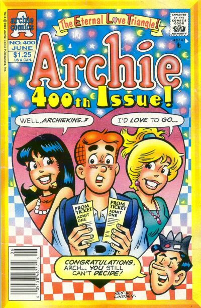 Cover for Archie (Archie, 1959 series) #400