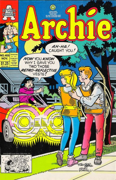 Cover for Archie (1962 series) #405