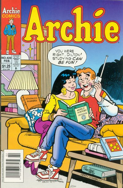 Cover for Archie (Archie, 1959 series) #420