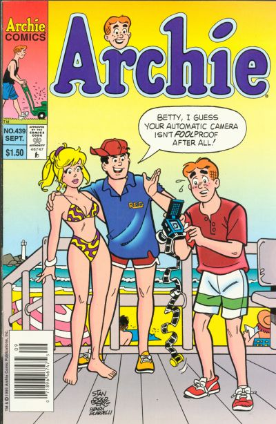 Cover for Archie (1962 series) #439 [Direct]