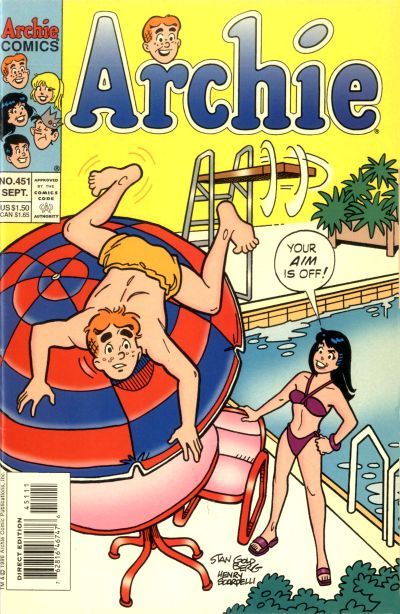 Cover for Archie (Archie, 1959 series) #451