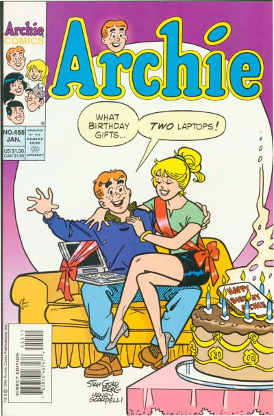 Cover for Archie (Archie, 1959 series) #455