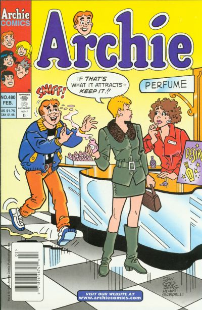 Cover for Archie (Archie, 1959 series) #480