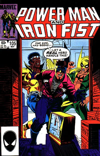 Cover for Power Man and Iron Fist (Marvel, 1981 series) #105 [newsstand]