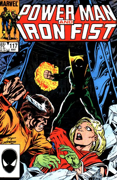 Cover for Power Man and Iron Fist (1981 series) #117 [newsstand 65 edition]