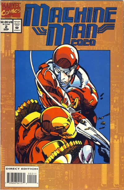 Cover for Machine Man 2020 (1994 series) #2