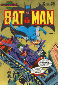 Cover Thumbnail for Batman and Robin (K. G. Murray, 1976 series) #8
