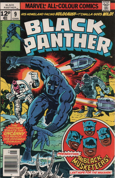 Cover for Black Panther (Marvel, 1977 series) #9