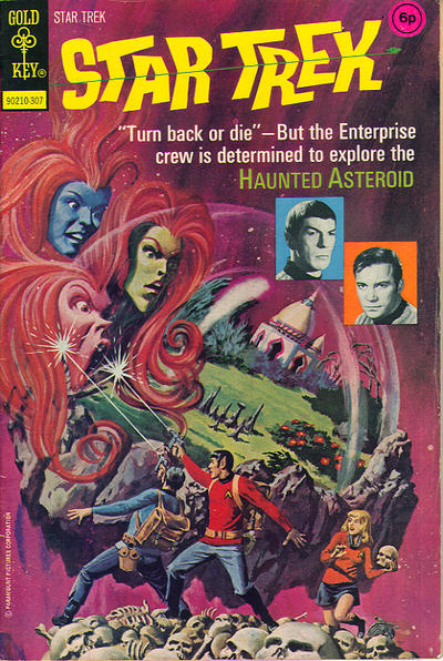 Cover for Star Trek (Western, 1967 series) #19