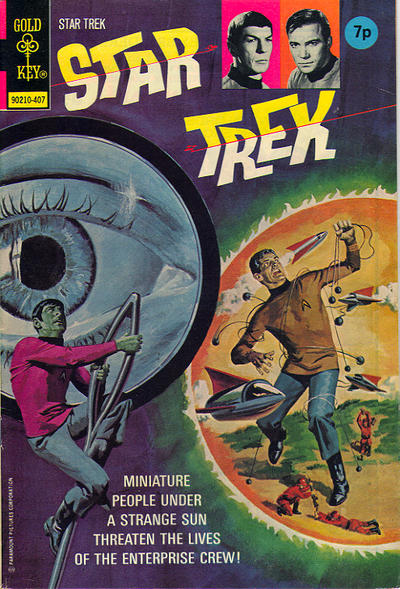 Cover for Star Trek (Western, 1967 series) #25