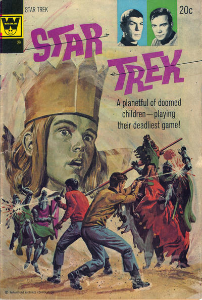 Cover for Star Trek (Western, 1967 series) #23